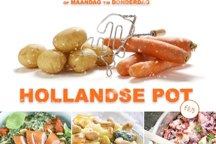 De gehele maand januari Hollandse Pot in de Groene Druif